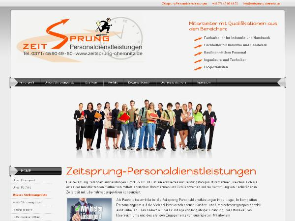 Webdesign Moderne Homepage Erstellen Mobile